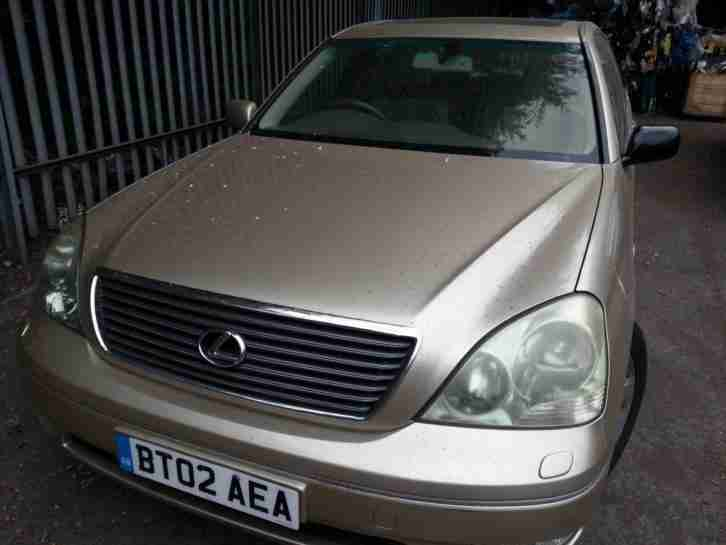 LEXUS LS430 SAT NAV ALLOYS LEATHER AUTOMATIC 12 MONTHS MOT SERVICE HISTORY