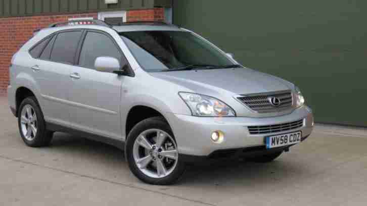 LEXUS RX 3.3 400H SE CVT AUTO HYBRID 2008/ 58 REG AA WARRANTY INCLUDED