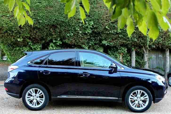 Lexus RX 450H. Lexus car from United Kingdom