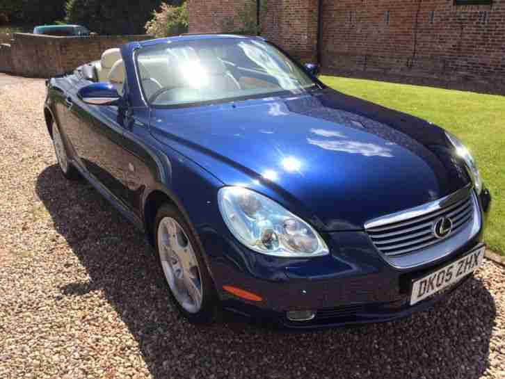 LEXUS SC430 2005 Stunning, low mileage, impeccable history example !