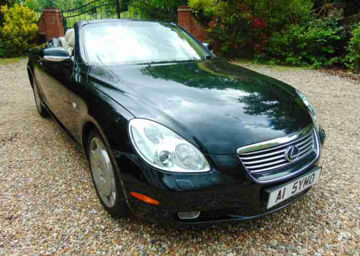 lexus sc430 hardtop convertible 45000mls car for sale. Black Bedroom Furniture Sets. Home Design Ideas