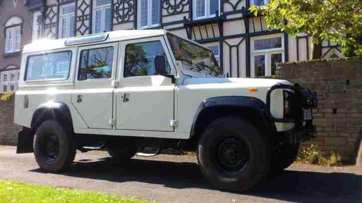 lhd 1986 land rover defender 110 station wagon 25 years old car for sale. Black Bedroom Furniture Sets. Home Design Ideas