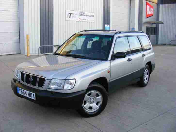 LHD !! 2001 Y SUBARU FORESTER, 2.0 NON TURBO, LEFT HAND DRIVE LHD UK REG
