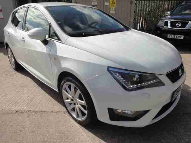 LHD 2012 Seat Ibiza 1.2 TSI FR DSG Automatic 5 Door SPANISH REGISTERED