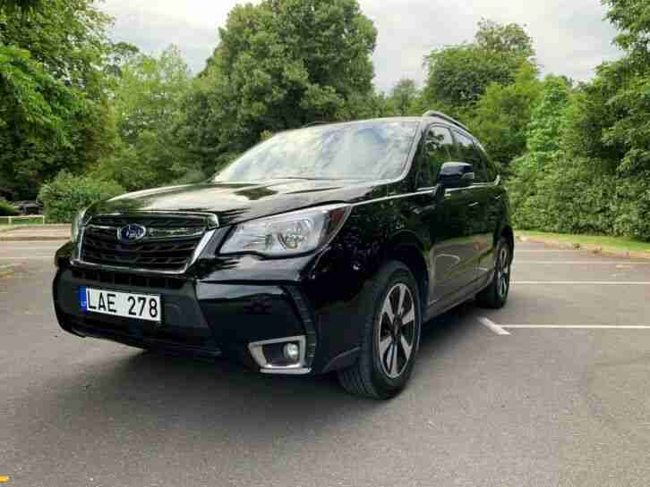 LHD 2018 Subaru Forester 2.5i Automatic