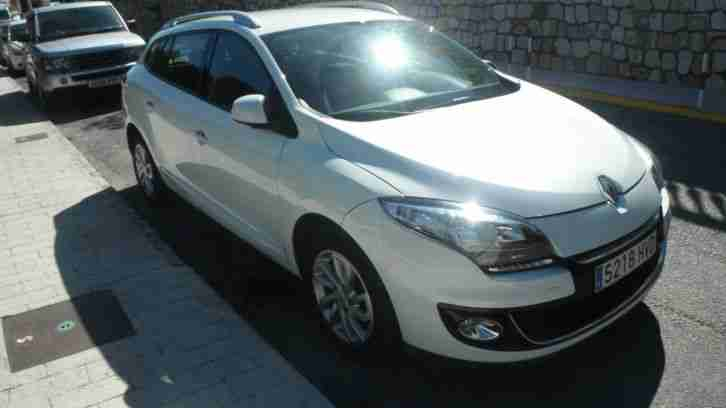 LHD IN SPAIN.... 01/2014 RENAULT MEGAN 1.5 DCI ESTATE 6 SPEED , LOCATED MIJAS,,