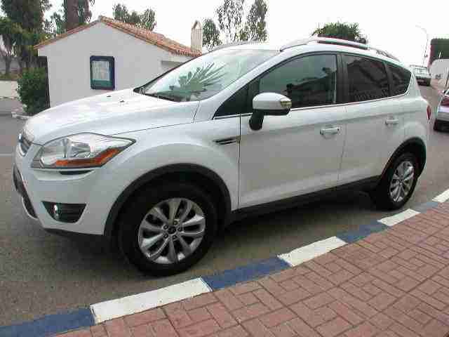 LHD IN SPAIN KUGA 2.0 TDCi 2009 LEFT