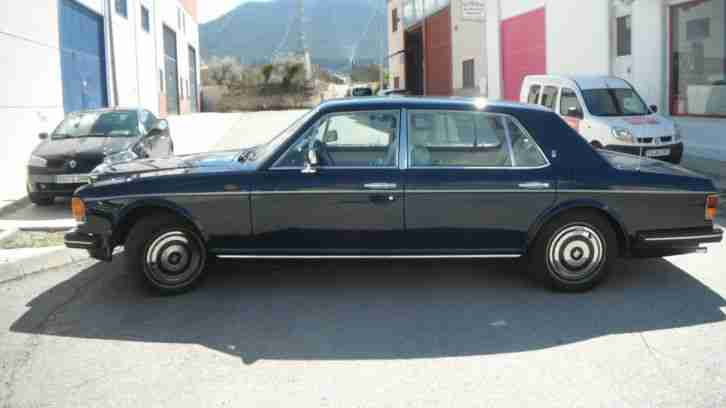 LHD IN SPAIN... ROLLS ROYCE SILVER SPUR 1986 FULLY LEGAL LEFT HAND DRIVE SPAINIS