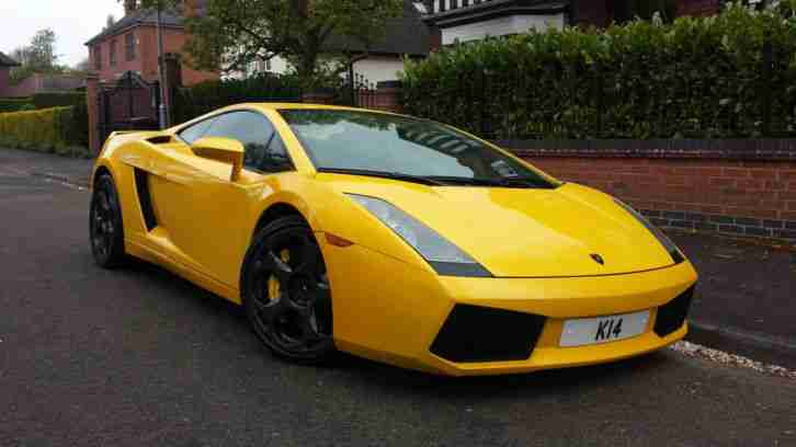 Lamborghini Lhd Gallardo 2004 Yellow E Gear Auto 5 0 V10 4wd Left Hand