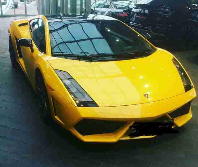 LHD LAMBORGHINI GALLARDO 2005 SPECIAL EDITION LOW MILEAGE