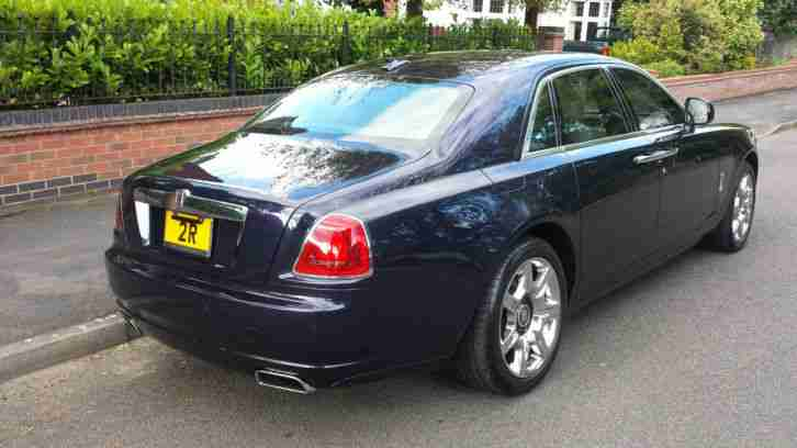 LHD ROLLS ROYCE GHOST 2011 6.6 PETROL - LEFT HAND DRIVE - FULLY LOADED!