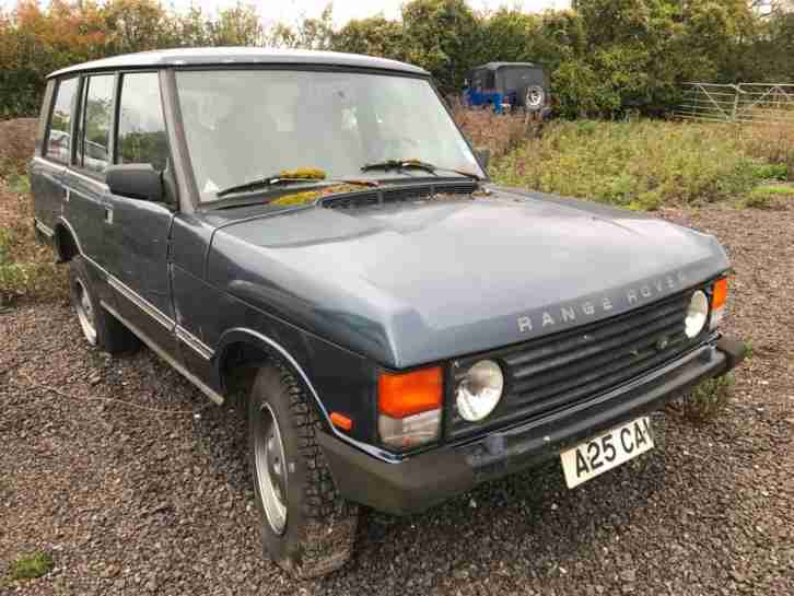 LHD Range Rover Classic V8 Janspeed