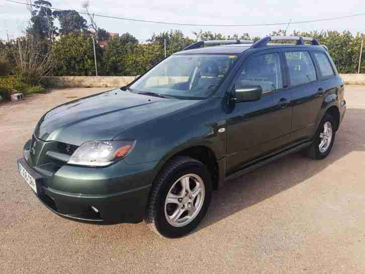 LHD Spain Spanish Mitsubishi Outlander Petrol 2004 Automatic 4WD