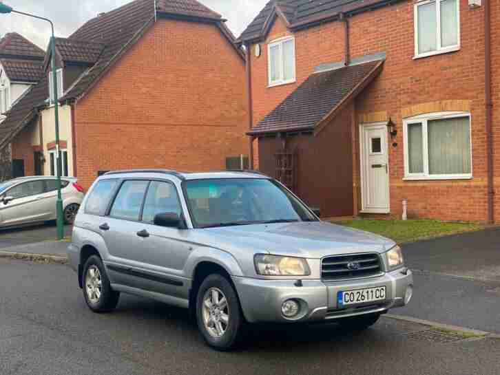 LHD Forester 2.0 AWD X 4x4 Left hand