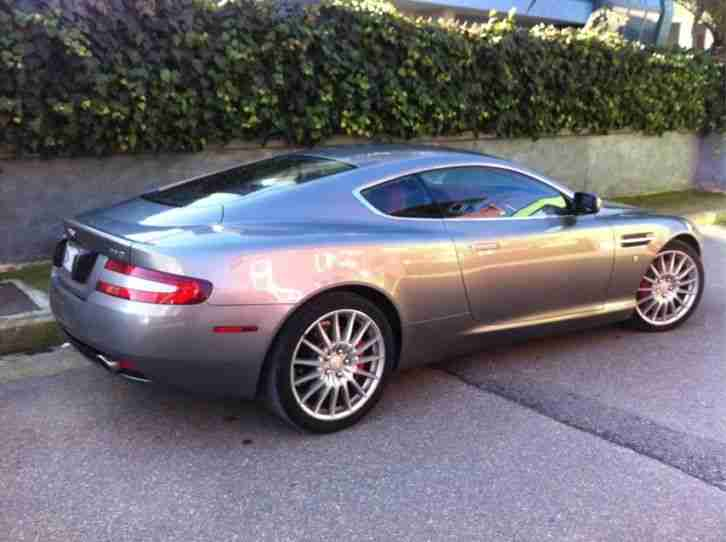 LHD rare 2006 Aston Martin DB9. Very Low miles. 007 plate.