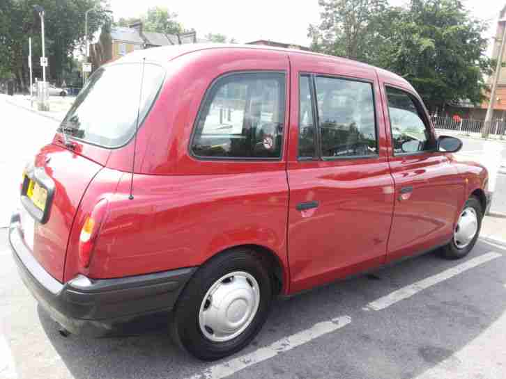london red taxi tx1 1999 mot march 2016  car for sale