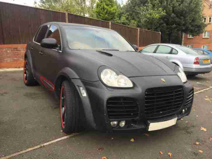 ******* LOOOOOOOK! PORSCHE CAYENNE TURBO TECHART CARBON GREY NO RESERVE! *******