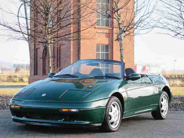 LOTUS ELAN 1.6 SE TURBO CONVERTIBLE * ONLY 15600 MILES* MODERN CLASSIC 1 OF 3000