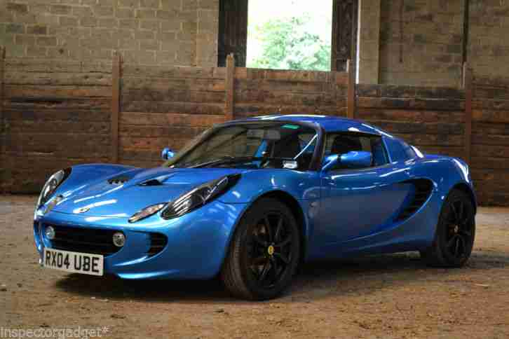 lotus elise 111r touring laser blue hardtop great condition car for sale. Black Bedroom Furniture Sets. Home Design Ideas