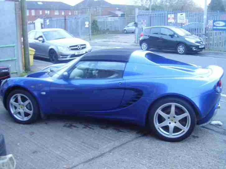 lotus elise s 2005 1 8 toyota engine car for sale. Black Bedroom Furniture Sets. Home Design Ideas