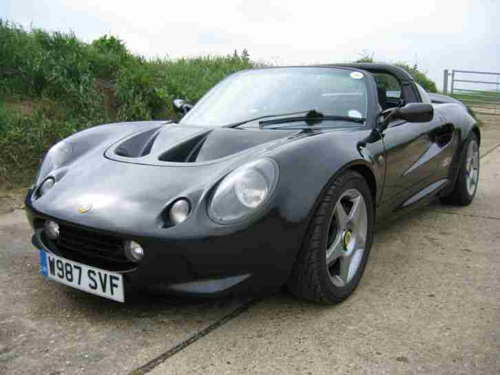 LOTUS ELISE S1 SPORT 160 SVA 1 OF 50 PRODUCED SUPER HISTORY AND LOW MILEAGE