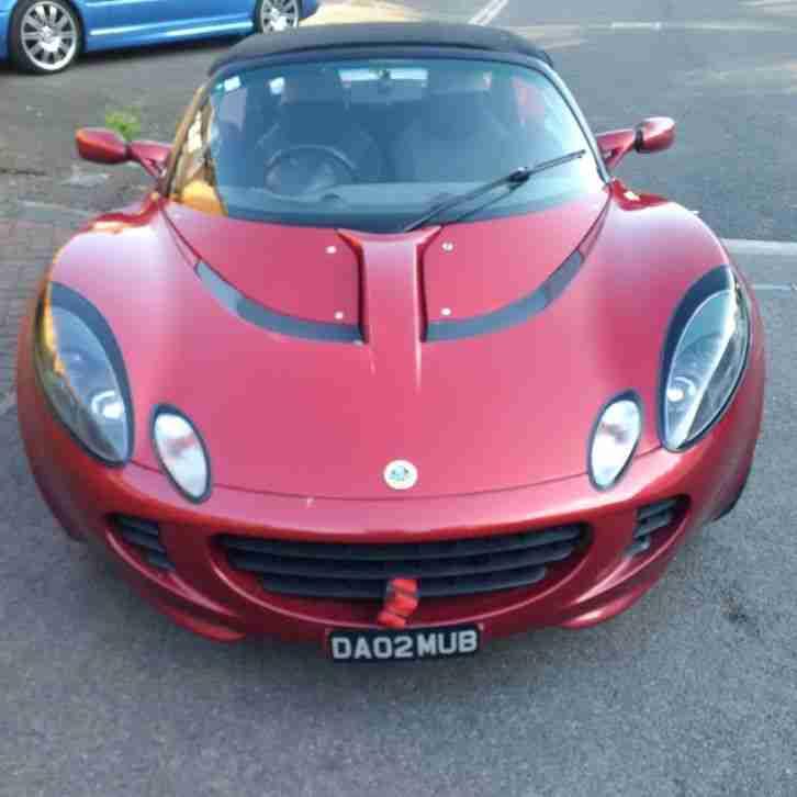 Lotus ELISE S2 1.8 2002 Race Tech. Car For Sale
