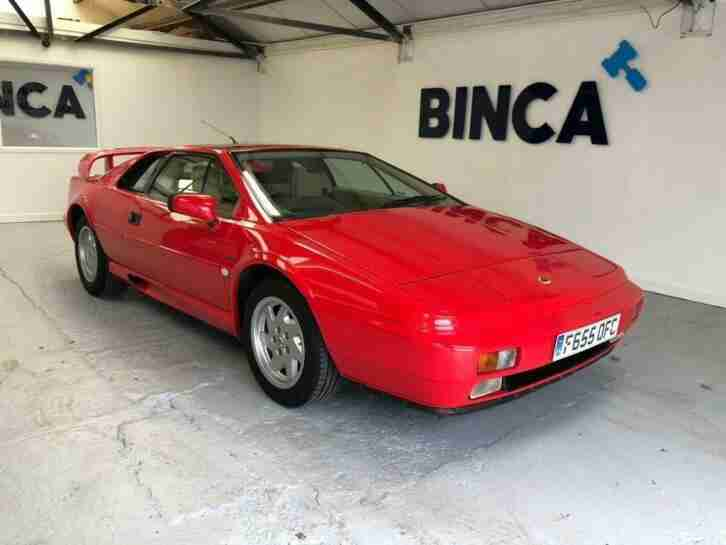 LOTUS ESPRIT 2.2 Turbo Coupe 2dr Petrol Manual 210 bhp 1989 Petrol Manual