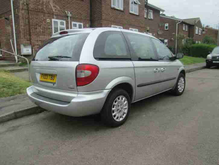 ** LOVELY CAR, 2003 CHRYSLER VOYAGE 2.5 CRD SE, MANUAL DIESEL, MOT, 73K FSH **
