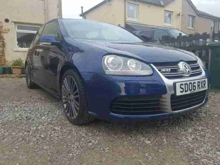 LOW MILEAGE MK 5 GOLF R32. 3.2 V6 BLUE