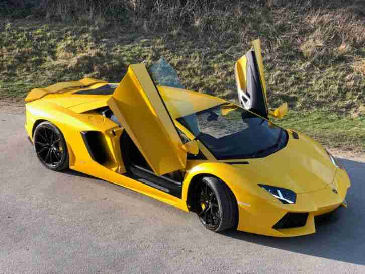 Lamborghini Aventador for sale 64 plate with special Giallo Paint & full PFF