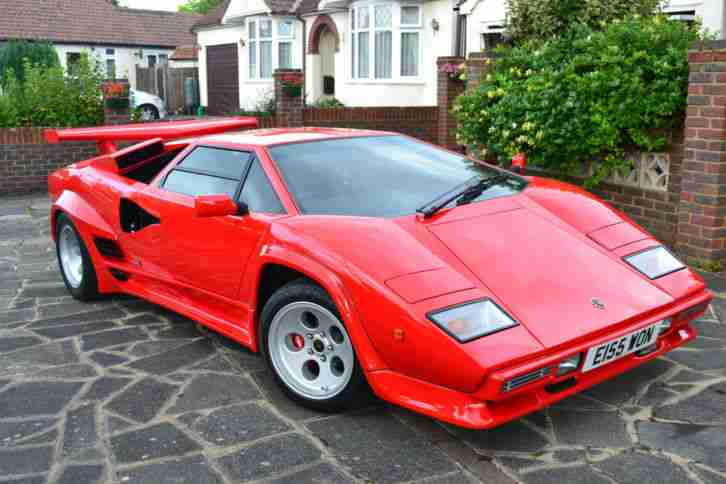 Lamborghini Countach 2014 Built On Own Space Frame Car For Sale