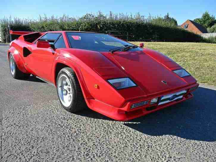Lamborghini Countach 5000 Qv By Mirage Car For Sale