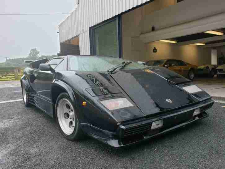 Lamborghini Countach Mirage mk2 Replica BMW V12 ENGINE AUDI GEAR BOX