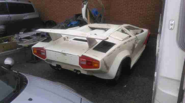 Lamborghini Countach Replica Kit Car Project