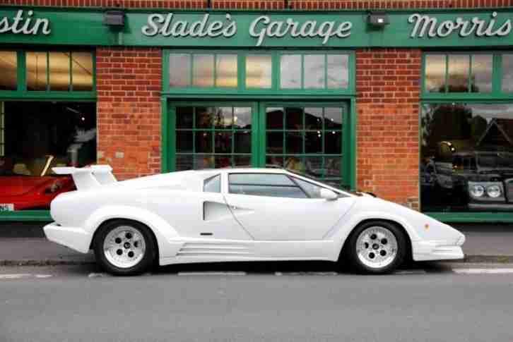 Lamborghini Countach V12 25th Anniversary Car For Sale