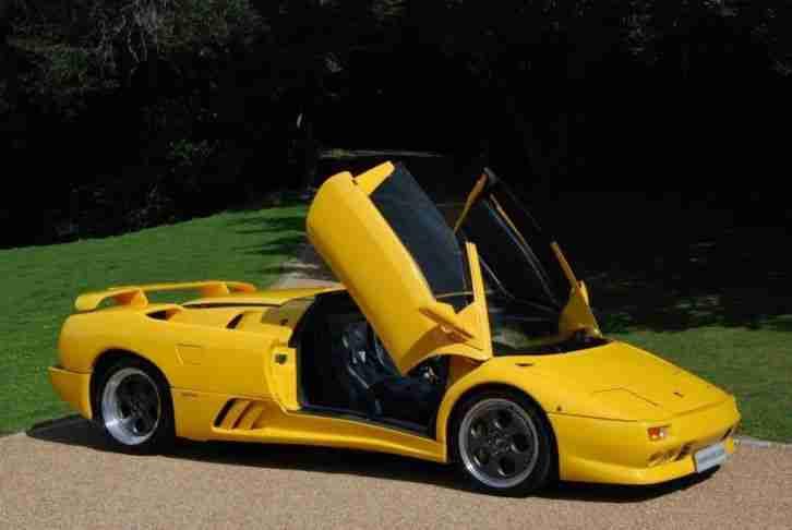 Lamborghini Diablo Vt Roadster Petrol Manual 1997 P Car For Sale