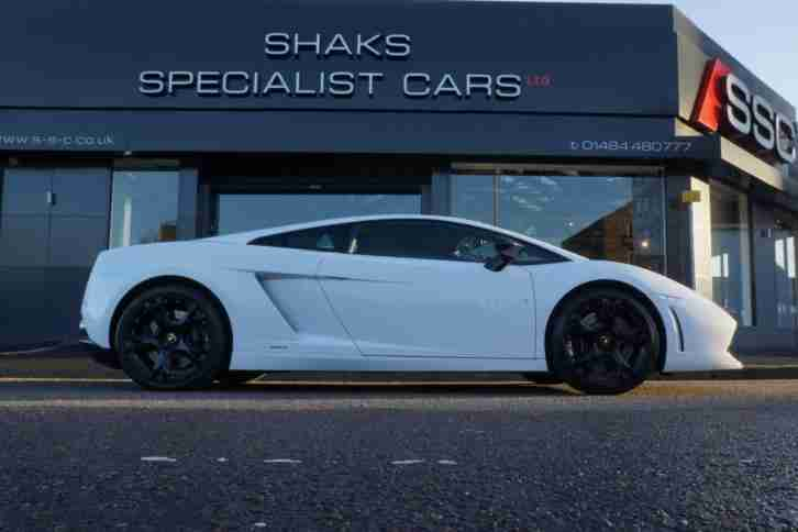 Lamborghini Gallardo 5.0 V10 2dr WITH LIFTING GEAR+REAR CAMERA