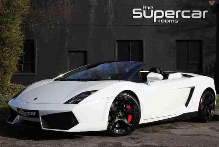 Lamborghini Gallardo 5.2. Lamborghini car from United Kingdom