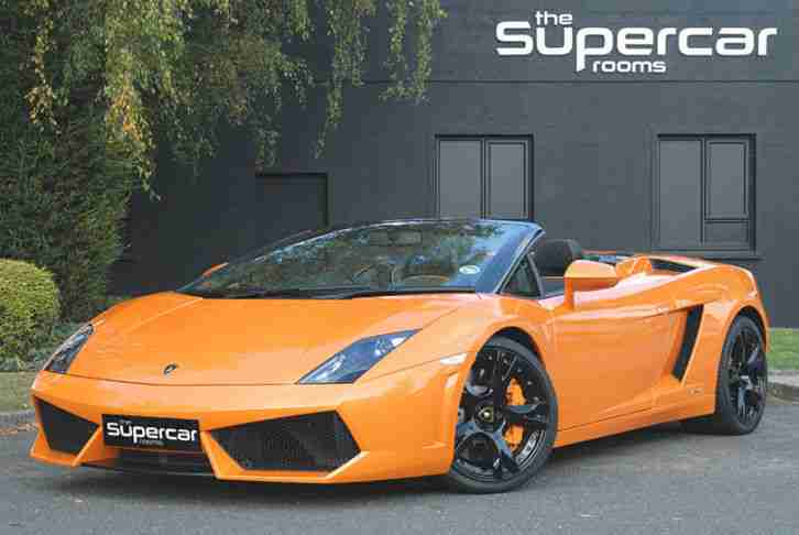 lamborghini gallardo lp560 4 spyder car for sale. Black Bedroom Furniture Sets. Home Design Ideas