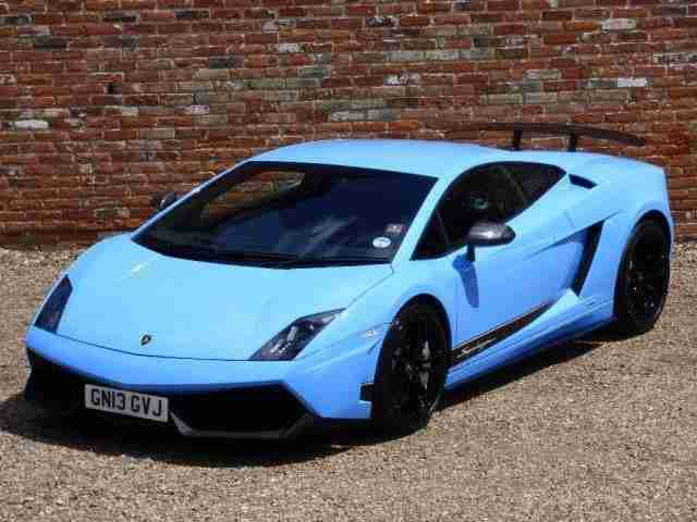Lamborghini Gallardo LP570-4 5.2 V10 Superleggera INVESTMENT OPPORTUNIT 2013/13