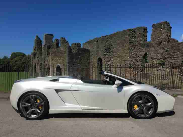 Lamborghini Gallardo Spyder. Lamborghini car from United Kingdom