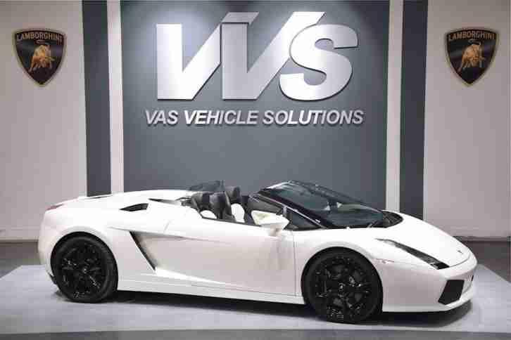 Lamborghini Gallardo Spyder 5 0 V10 High Spec Car For Sale