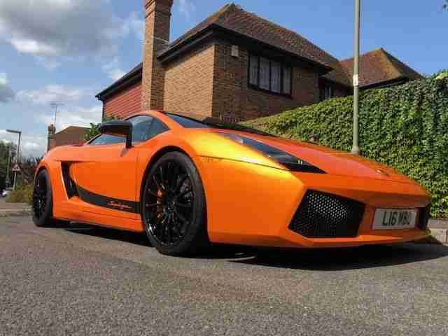 Lamborghini Gallardo Superleggera 2007 Orange Lhd 5 0 V10 19 759 Miles
