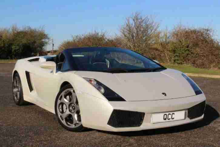 Lamborghini Gallardo V10 Spyder E Gear Car For Sale