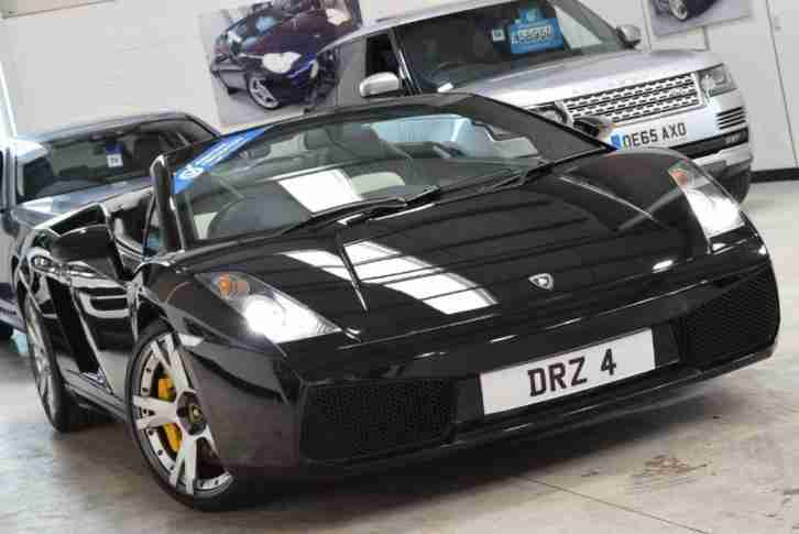 Lamborghini Gallardo V10 Spyder Car For Sale
