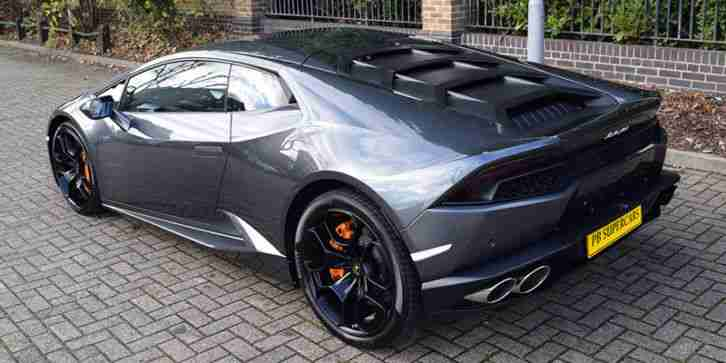 Lamborghini Huracan Hire. Lamborghini car from United Kingdom