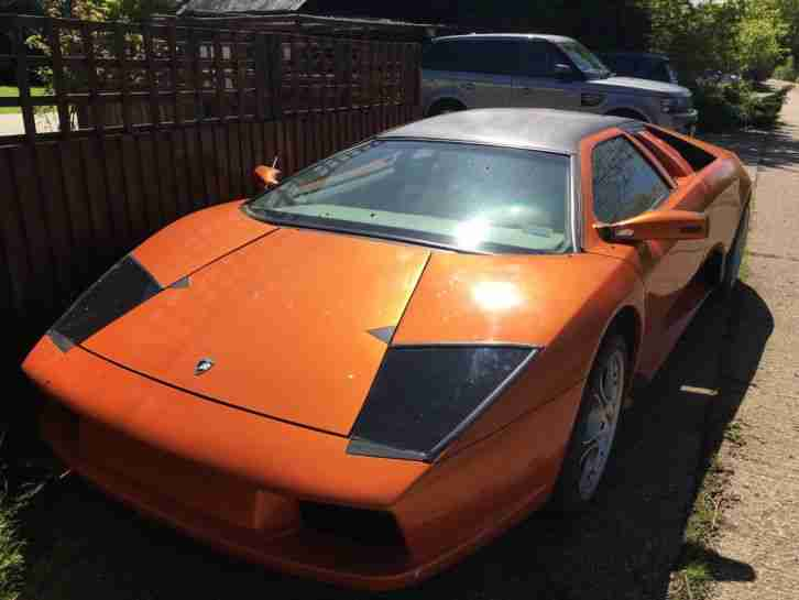 Lamborghini Murcielago Replica Kit Car Almost Finished Project
