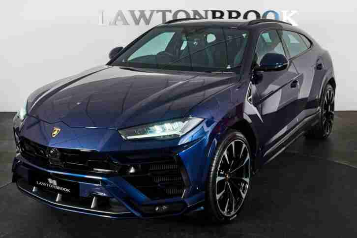 Lamborghini URUS V8. Lamborghini car from United Kingdom