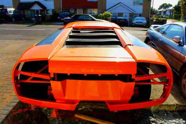 Lamborghini murcielago extreme replica kit car project