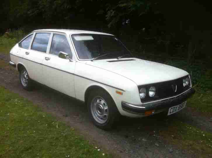 Lancia Beta 1300 very rare classic car excelent appearance inside and out